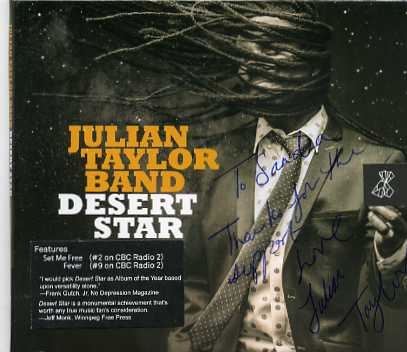 Julian Taylor Band – Desert Star